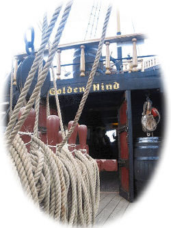 golden hind deck